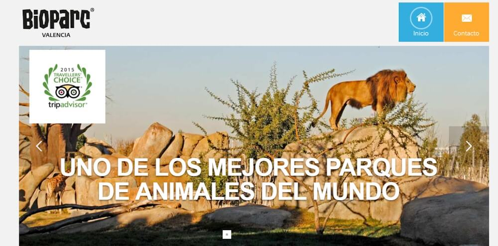www.taquillaonline.bioparcvalencia.es