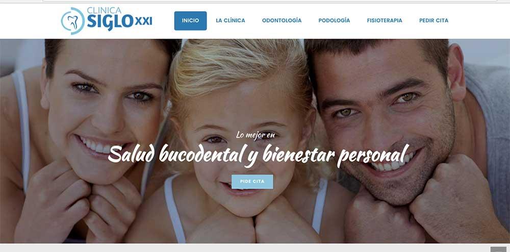 www.clinicadentalsigloxxi.com