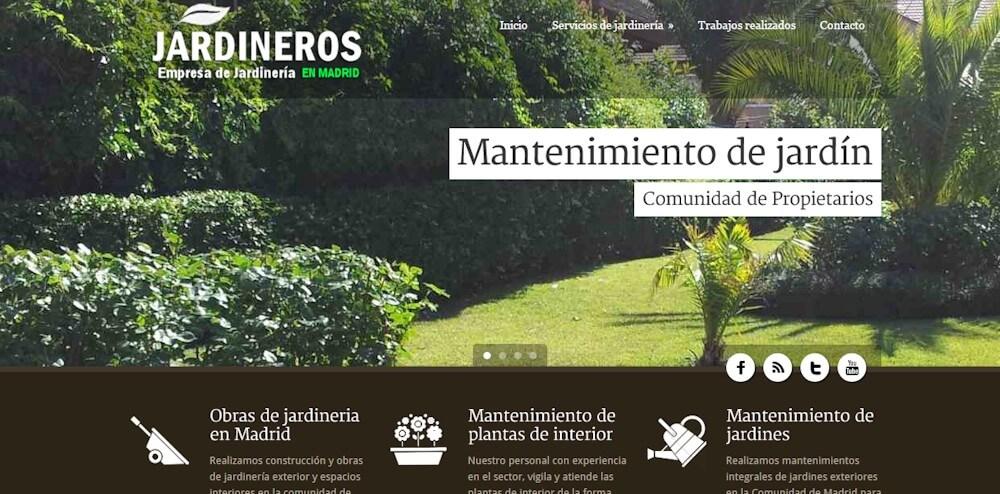 www.jardinerosenmadrid.net