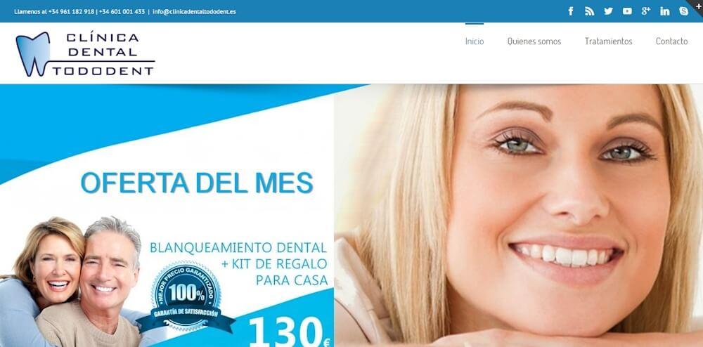 www.clinicadentaltododent.es