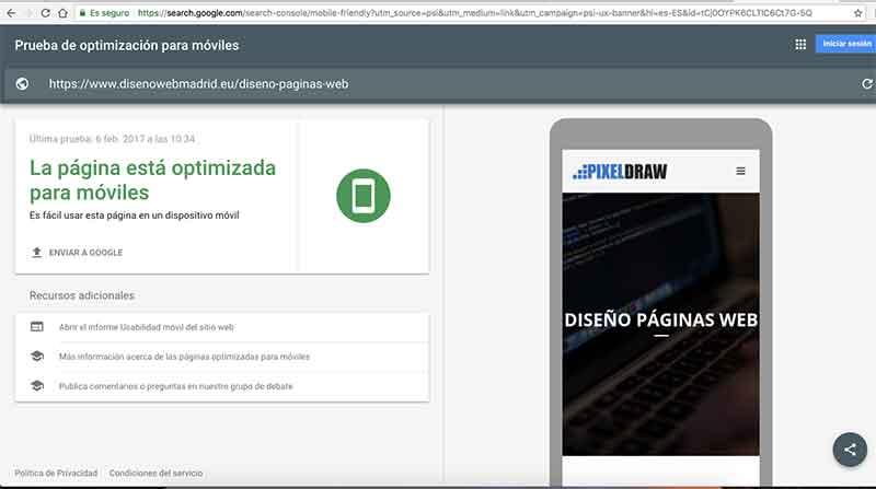 Diseño web Responsive para mejorar el posicionamiento SEO